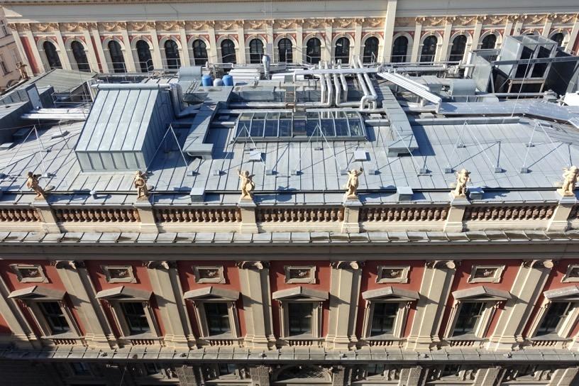 ホテル インペリアル ウィーン:テラスからの眺望3