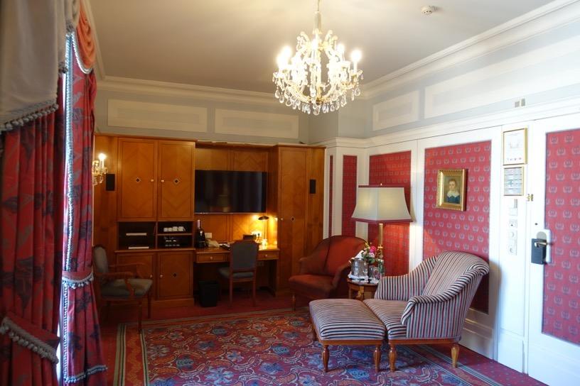 ホテル ブリストル ウィーン:客室(ジュニアスイート)3