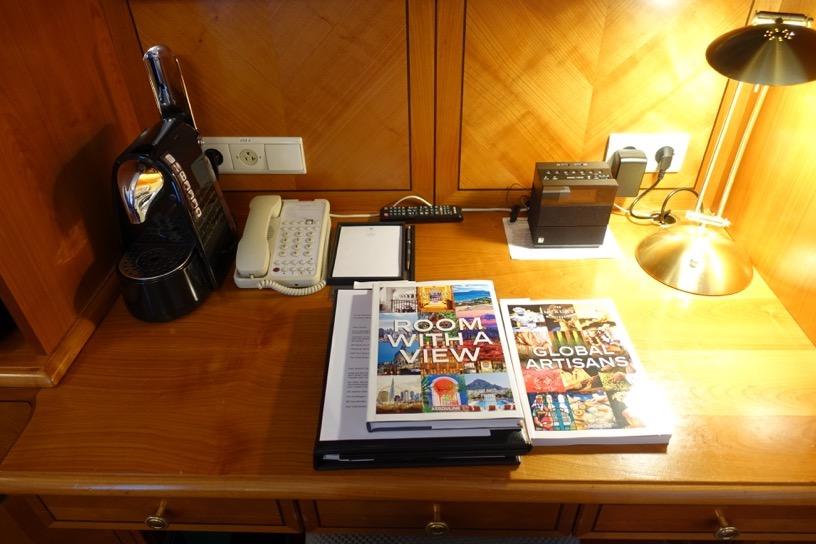 ホテル ブリストル ウィーン:ビジネスデスク1