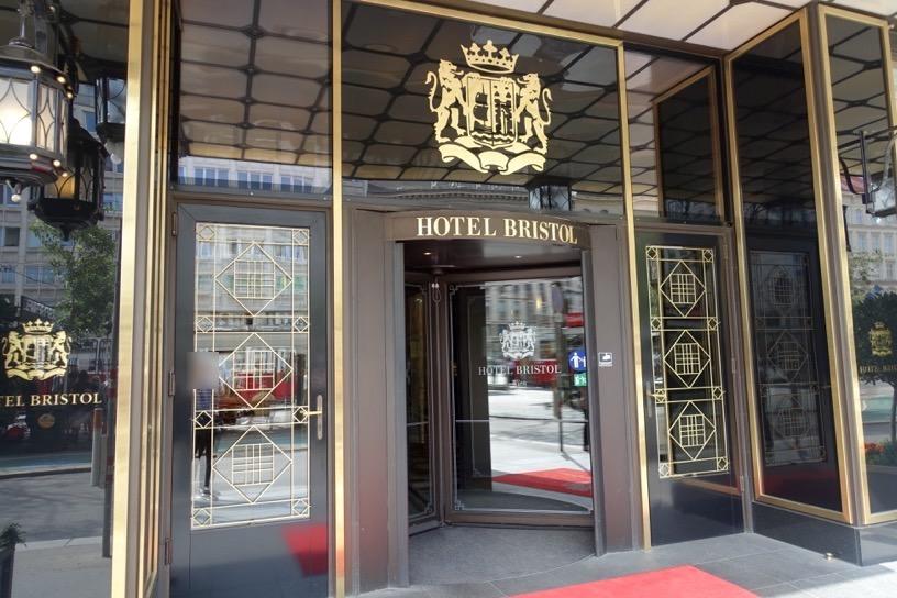 ホテル ブリストル ウィーン:外観3