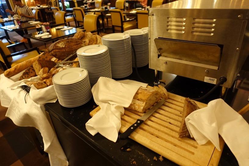 ブリストル ラウンジ:朝食ビュッフェのフード7