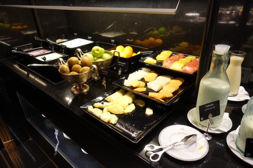ブリストル ラウンジ:朝食ビュッフェのフード4