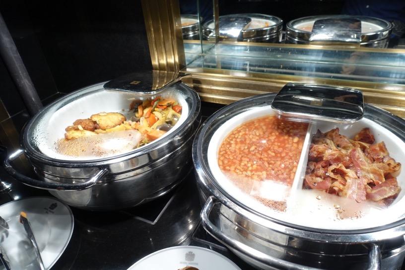 ブリストル ラウンジ:朝食ビュッフェのフード5