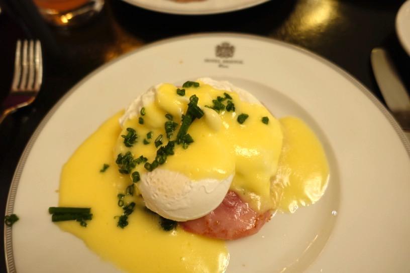 ブリストル ラウンジ:朝食ビュッフェの実食1