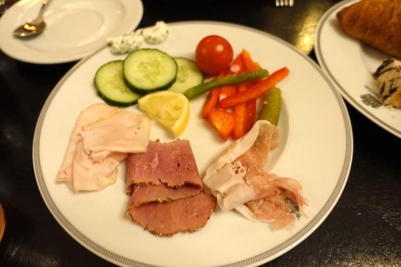 ブリストル ラウンジ:朝食ビュッフェの実食3