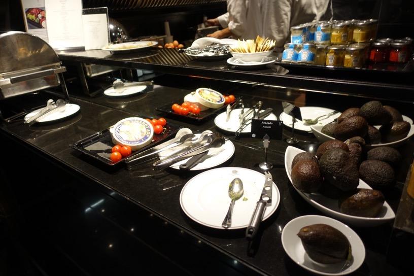 ブリストル ラウンジ:朝食ビュッフェのフード6