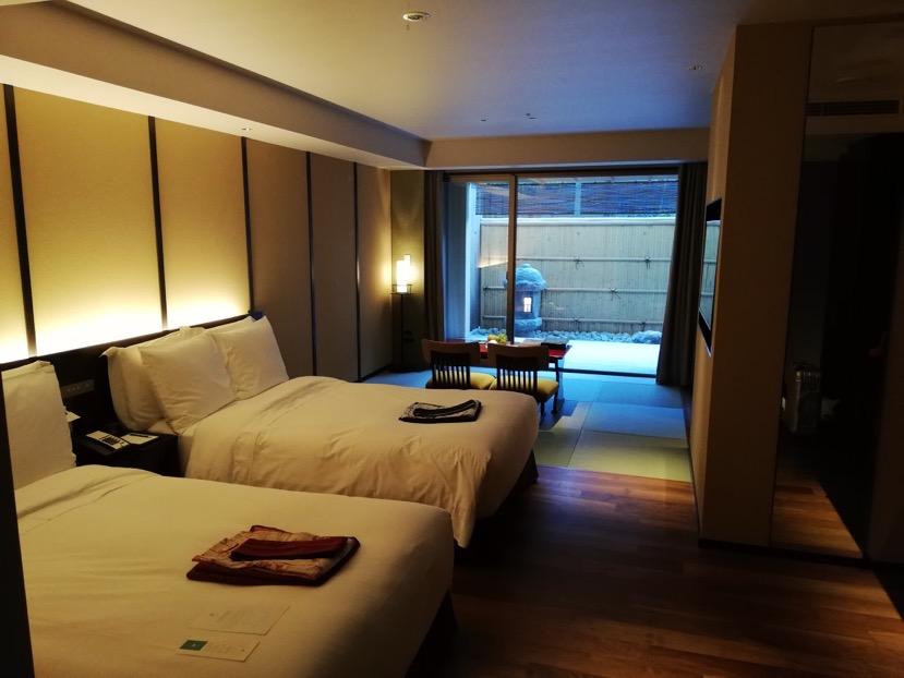 マリオットのホテル宿泊「翠嵐」