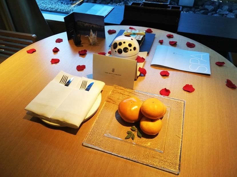 客室(グランドデラックスKAMOGAWA):ウェルカムギフト
