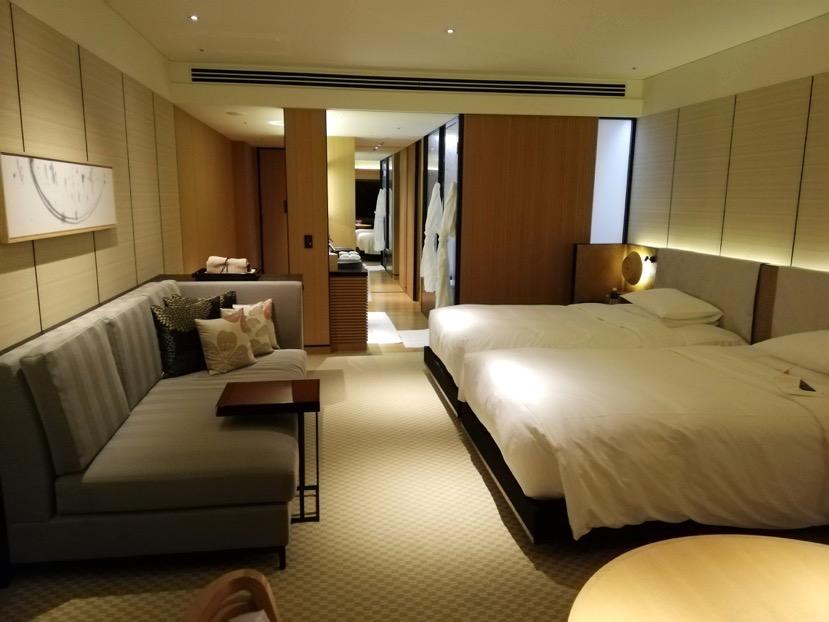 客室(グランドデラックスKAMOGAWA):バスルーム1