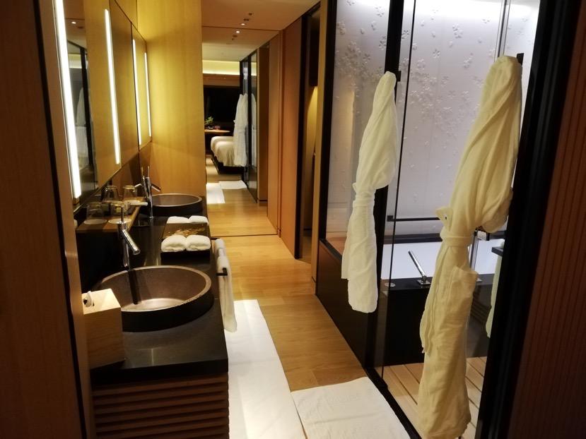 客室(グランドデラックスKAMOGAWA):バスルーム2