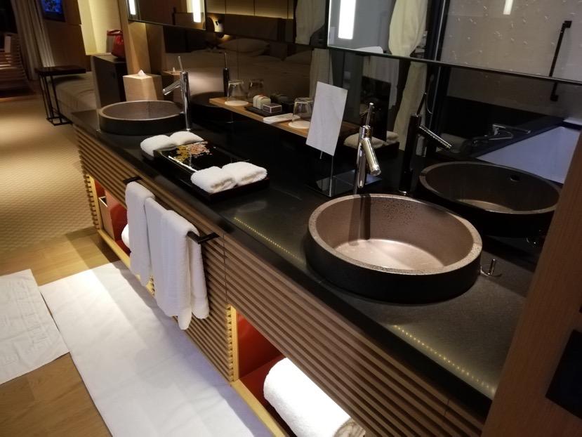 客室(グランドデラックスKAMOGAWA):バスルーム6