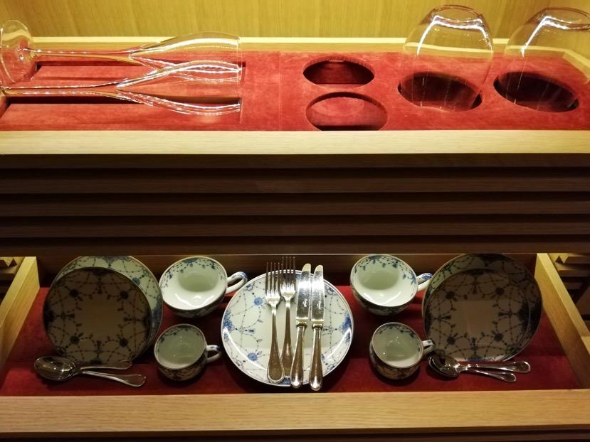客室(グランドデラックスKAMOGAWA):ミニバー2