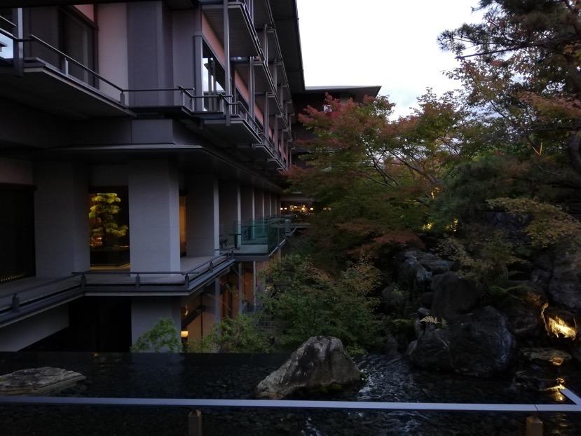ザ・リッツ・カールトン京都:中庭