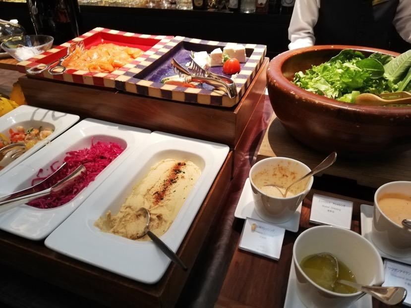 「ラ・ロカンダ」の朝食ビュッフェ1