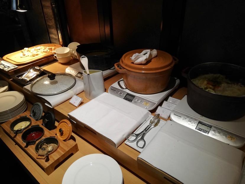 「ラ・ロカンダ」の朝食ビュッフェ5