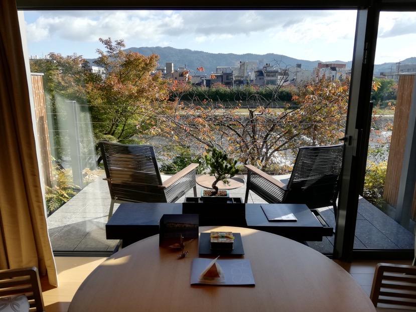 客室(グランドデラックスKAMOGAWA):眺望1