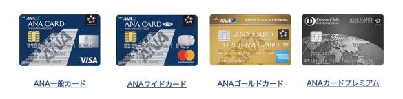 ANAカードのグレード