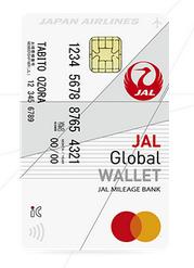 「JAL Global WALLET」の券面