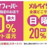【3月最新】メイルペイのキャンペーンで最大50%還元!<フィーバー&サンデー>