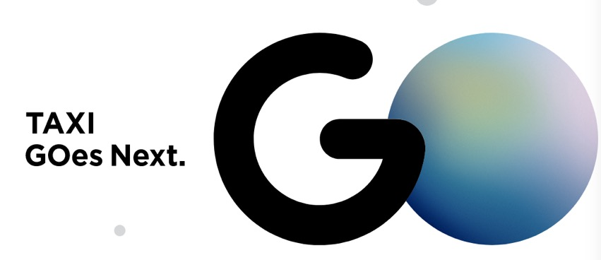 タクシー配車サービス「GO(旧:MOV)」のロゴマーク