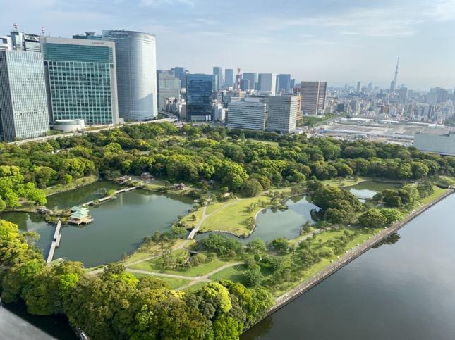 「メズム東京」のテラス(眺望1)