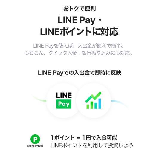 LINE証券の特徴2