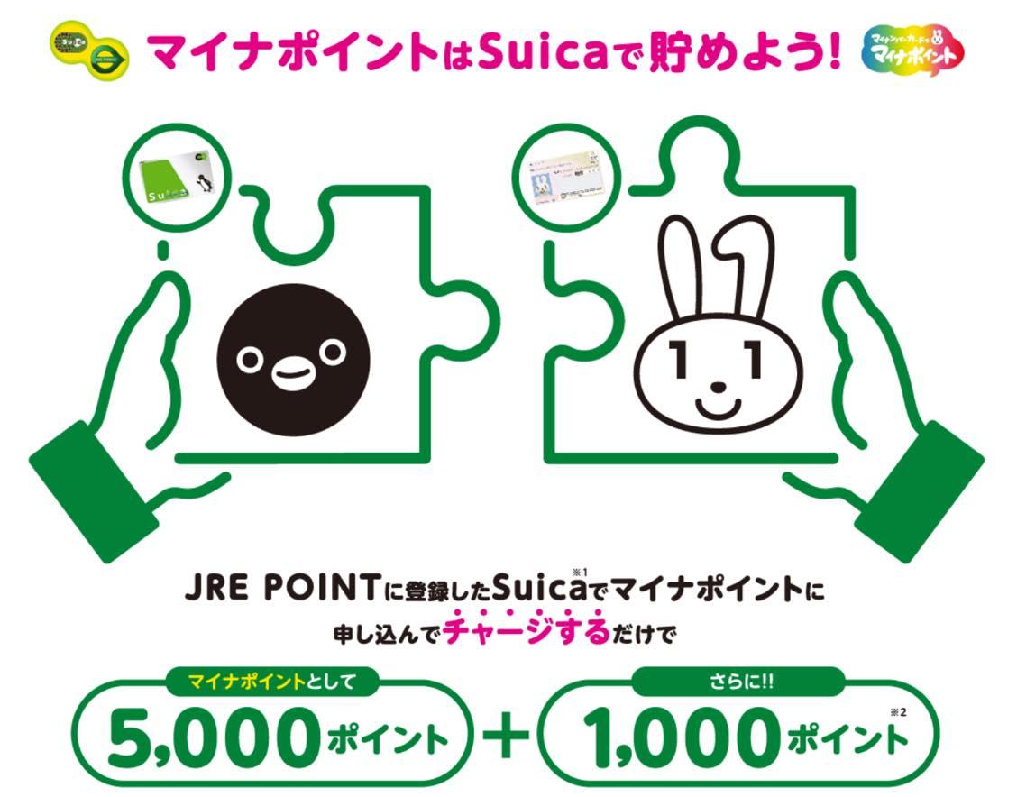 マイナポイント登録キャンペーン「Suica」:概要