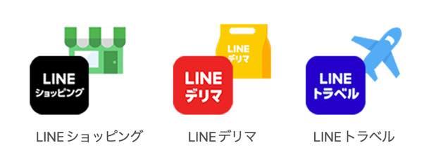 LINEポイントが使えるサービス