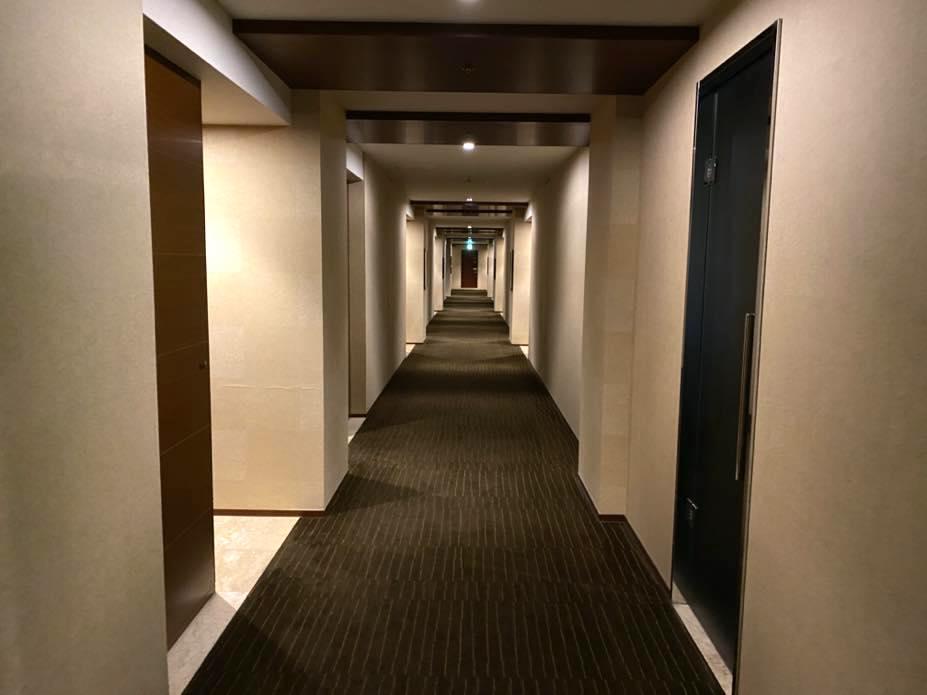 グランドハイアット東京:廊下1