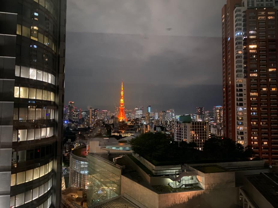グランドハイアット東京:夜景1