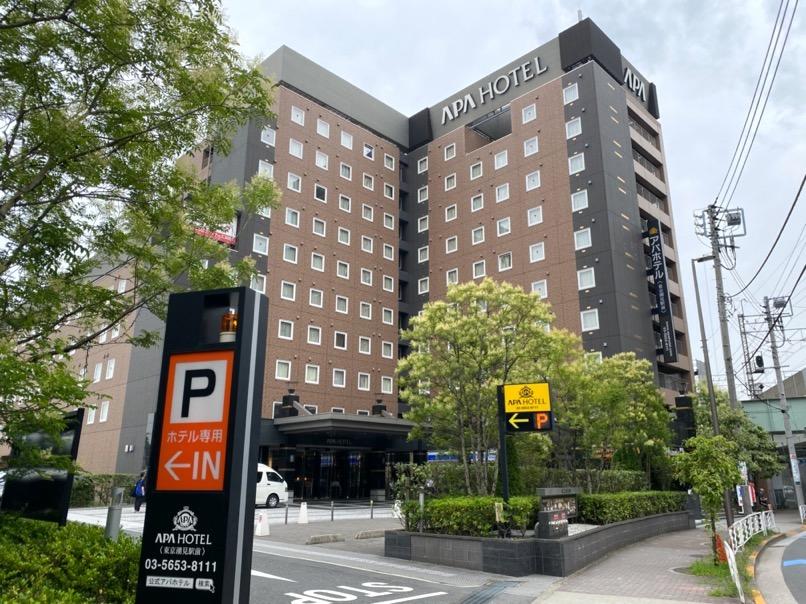 アパホテル東京潮見駅前:ホテルの外観