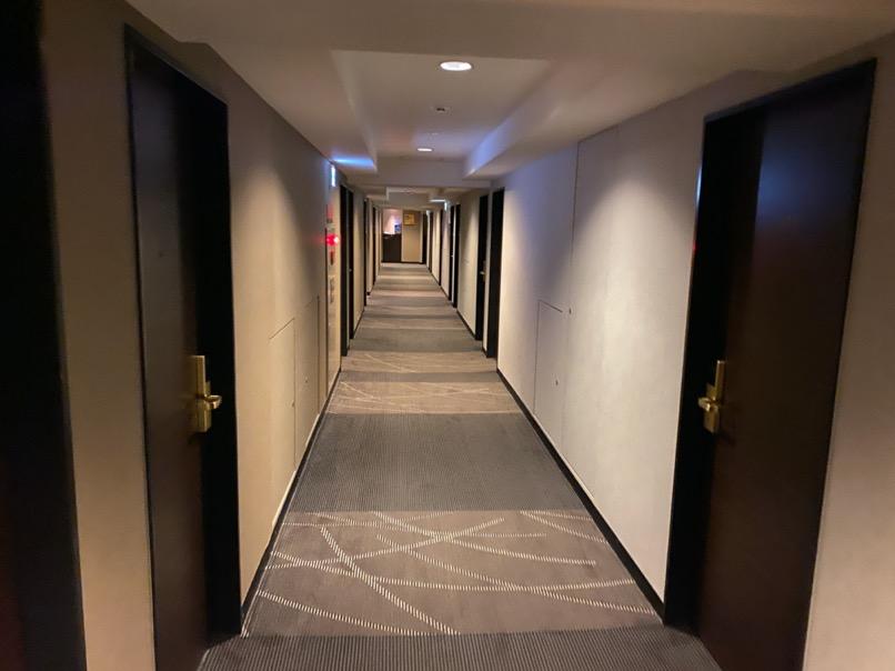 アパホテル東京潮見駅前:廊下