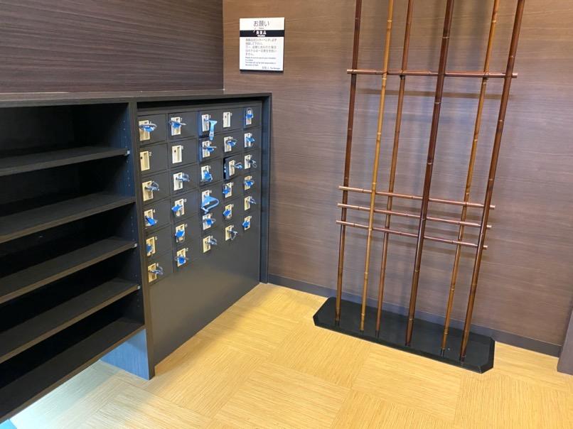 アパホテル東京潮見駅前:大浴場(ロッカー)