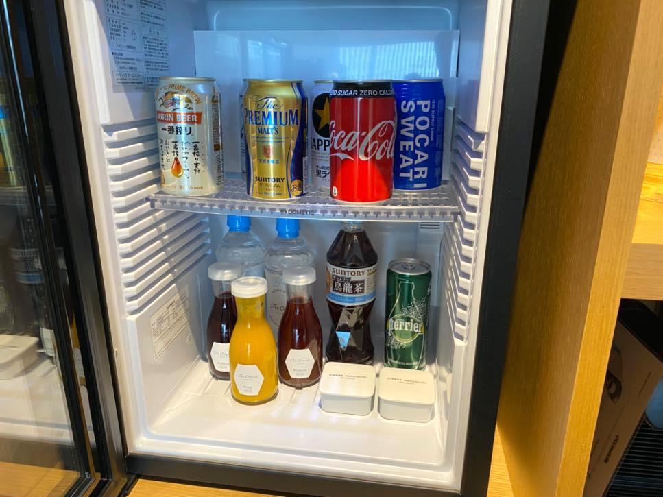 ヘリテージウィング「ヘリテージルーム」冷蔵庫1
