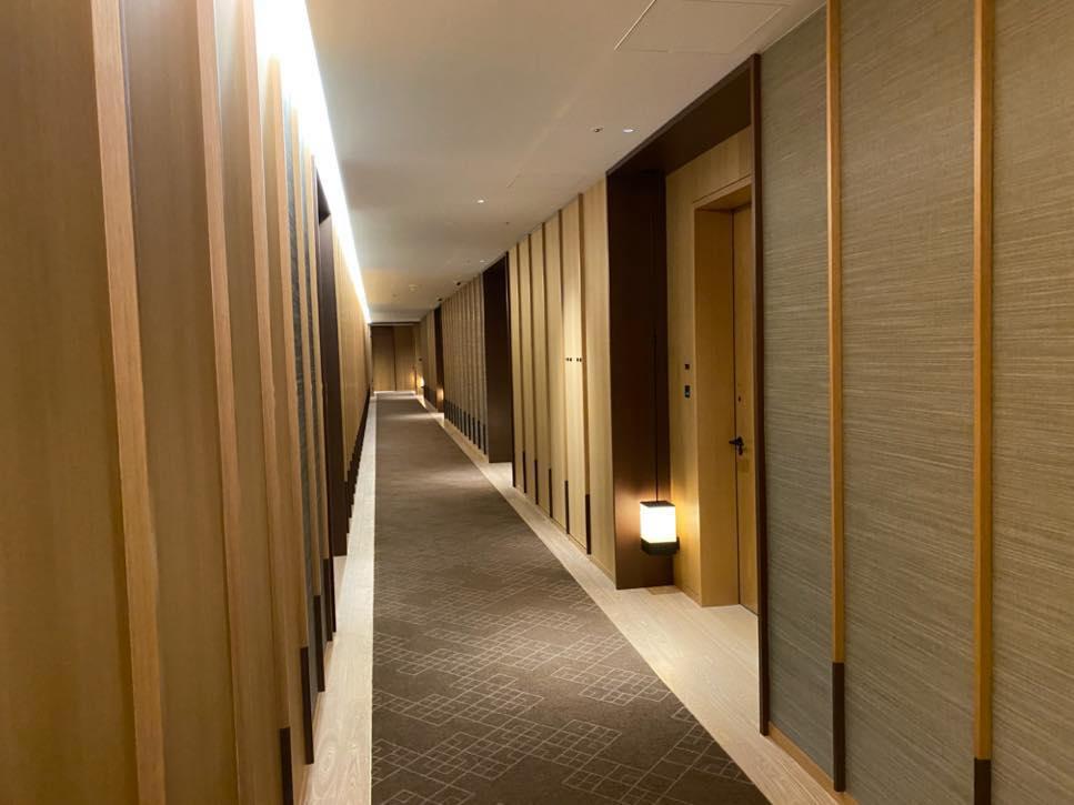 The Okura「ヘリテージウィング」内廊下