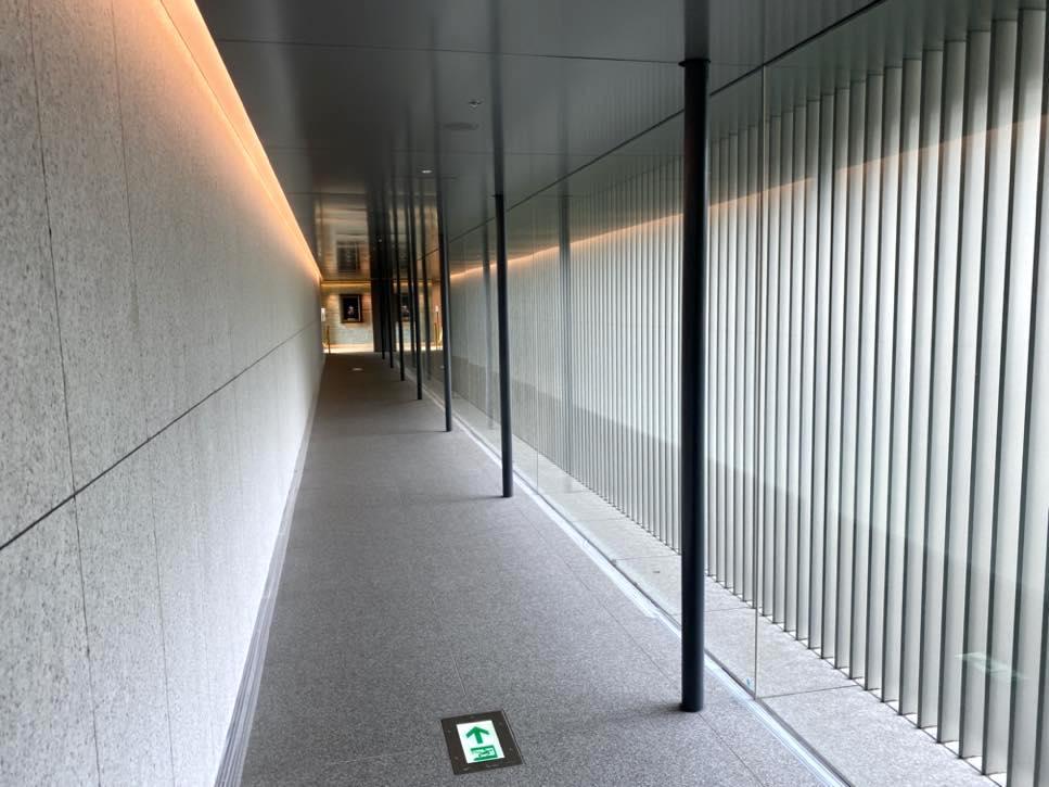 The Okura(オークラ東京):館内廊下