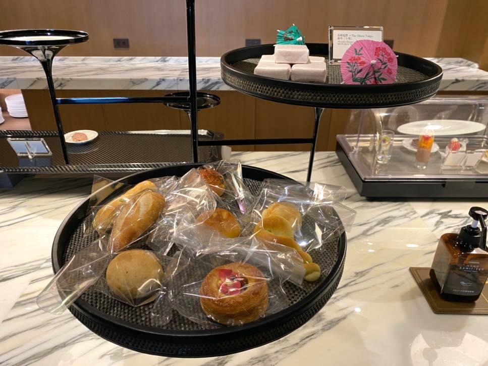 クラブラウンジ「アフタヌーンティー」:フード(パン&和菓子)