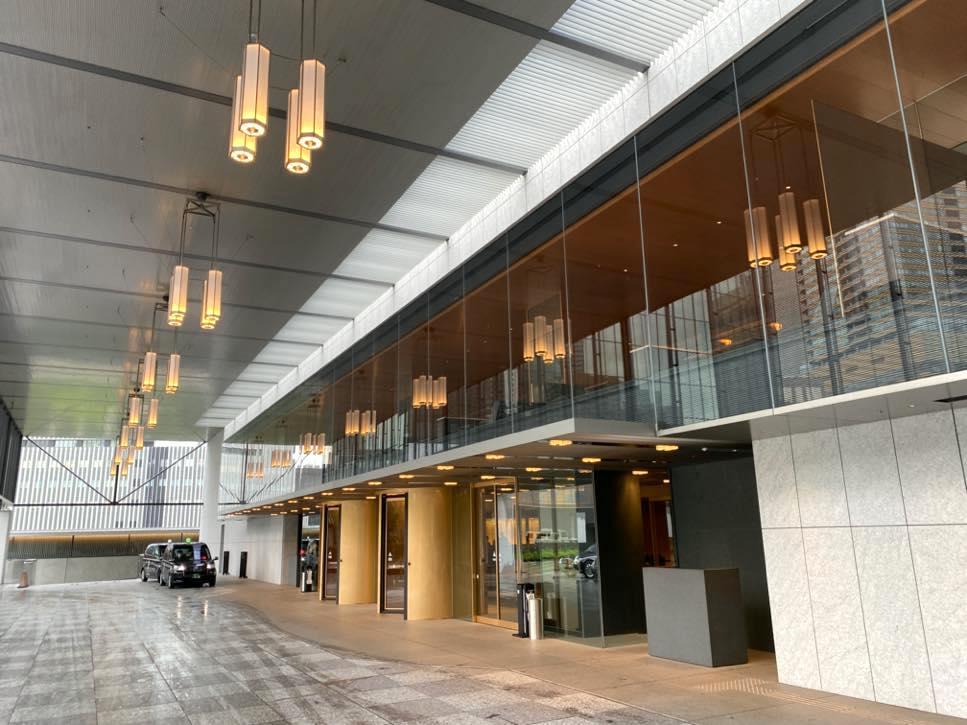 The Okura Tokyo(オークラ東京):エントランス(プレステージタワー)