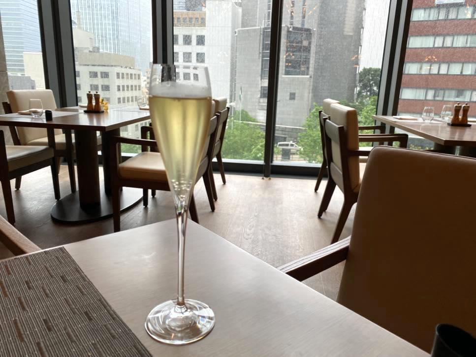 The Okura Tokyo(オークラ東京):オーキッド(シャンパン)