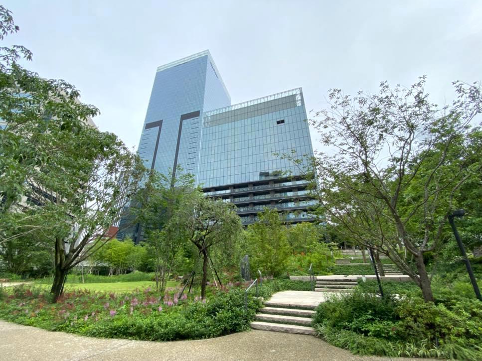 The Okura(オークラ東京):庭園2