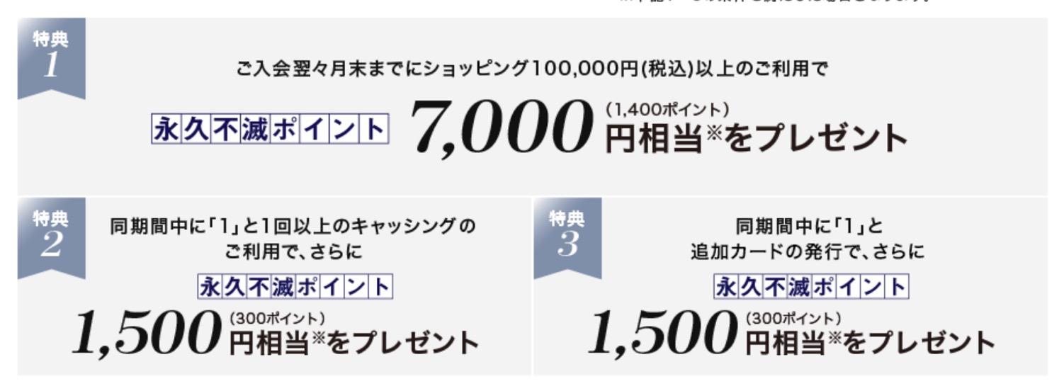 公式サイトの入会キャンペーン「10,000円相当プレゼント」の内訳