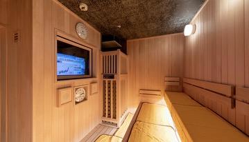 「御宿 野乃 浅草」の大浴場:サウナ