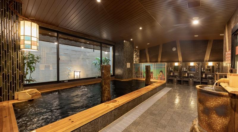 「御宿 野乃 浅草」の大浴場:内湯