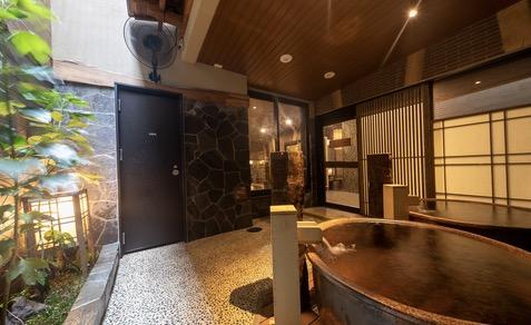 「御宿 野乃 浅草」の大浴場:外湯