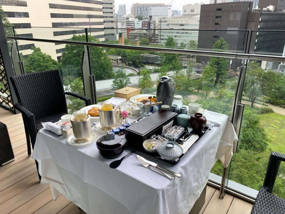 The Okura Tokyo(オークラ東京)の朝食