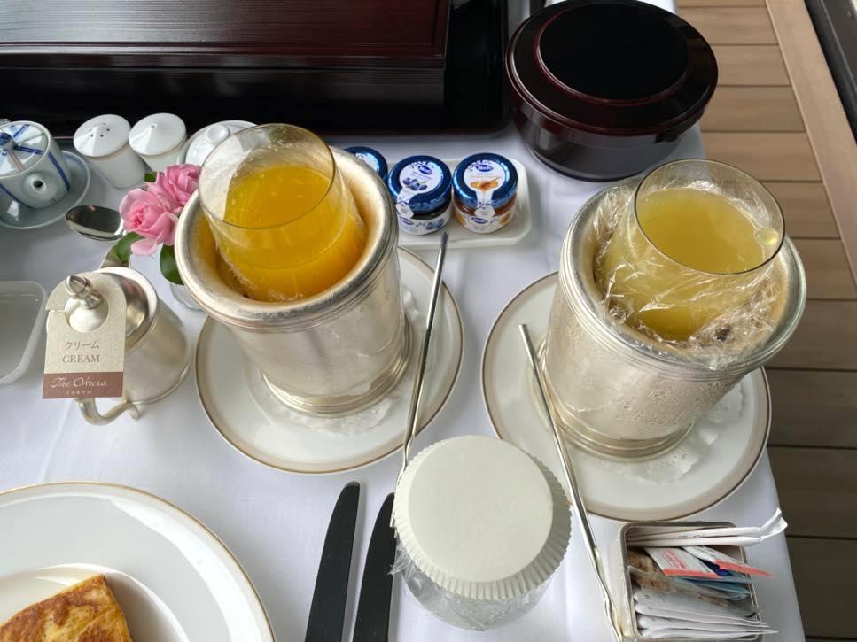 オークラヘリテージ:ルームサービスの朝食(洋食2)