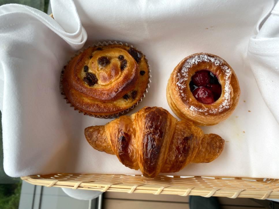オークラヘリテージ:ルームサービスの朝食(洋食3)