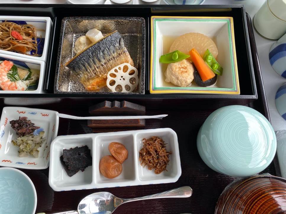 オークラヘリテージ:ルームサービスの朝食(和食2)