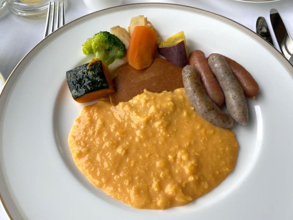 オークラヘリテージ:ルームサービスの朝食(洋食1)
