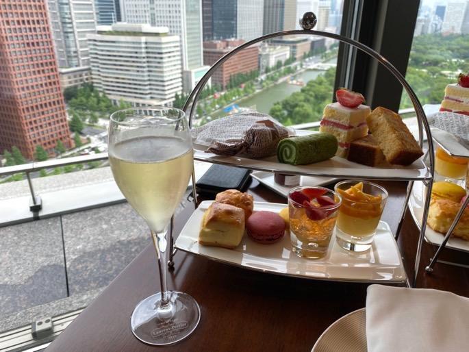 パレスホテル東京のクラブラウンジ